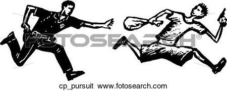 Clip Art of pursuit cp_pursuit.