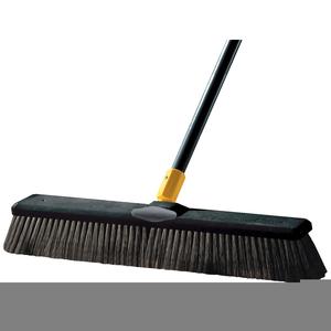 Clipart Push Broom.