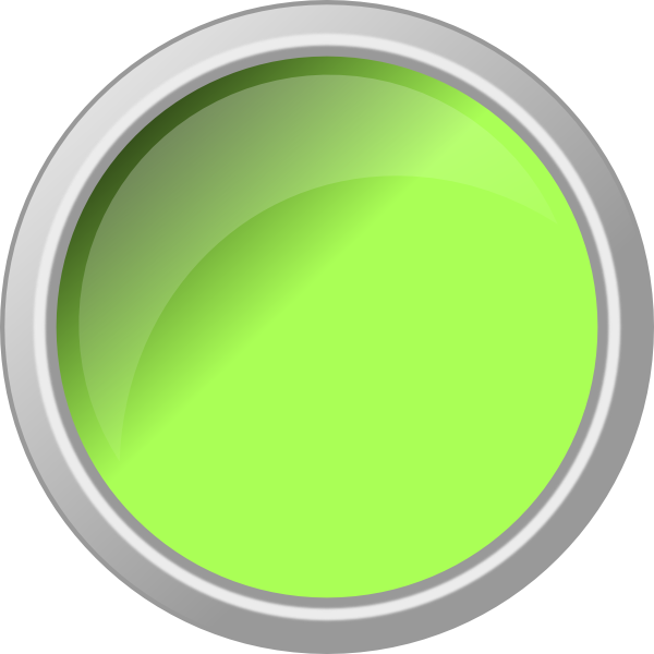 Glossy Green Push Button Clip Art at Clker.com.