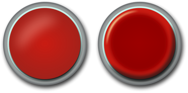 Red button Clipart, vector clip art online, royalty free design.