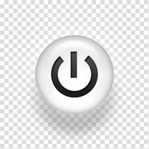 Power button icon, Computer Icons Button No symbol Sign.