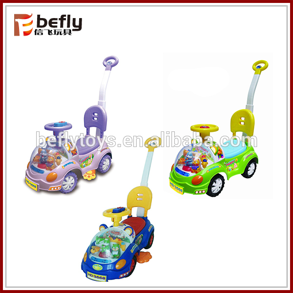 Baby Gliding Car With Push Handle, Baby Gliding Car With Push.