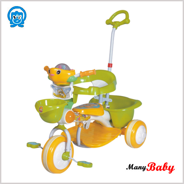 2015 Newly Reverse Tricycle For Kids Push Handle Kids Toy Trike.
