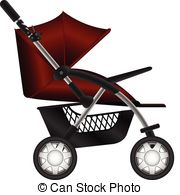 Pushchair Clipart and Stock Illustrations. 549 Pushchair vector.