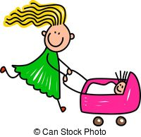 Pushchair clipart #20