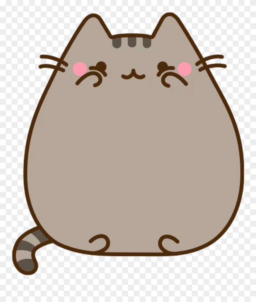 Pusheen Cat Clipart (#576568).