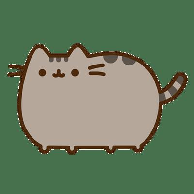 Pusheen Cat transparent PNG.