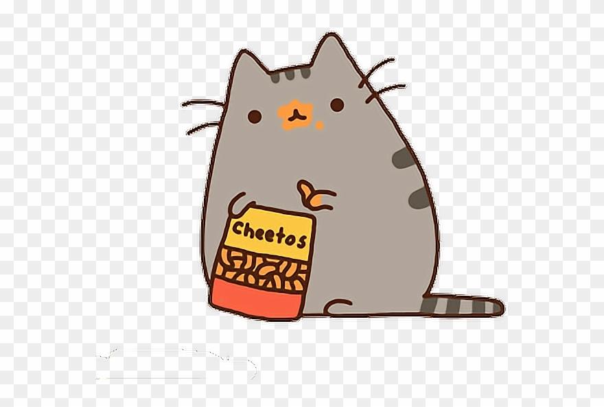 Pusheen The Cat Clipart (#2098979).