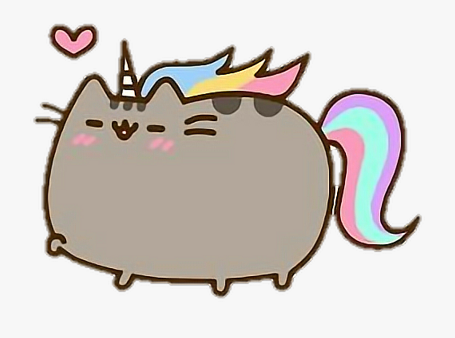 Pusheen Cat Clipart Tumblr.
