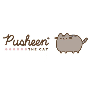 Enesco 6004626 Pusheen by Our Name is Mud Stormy Sweets Coffee Mug Set, 12  oz, White.