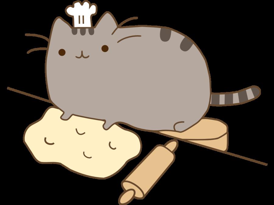 Pusheen The Cat Clipart.
