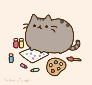 Pusheen Cat Clipart.