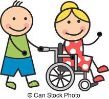1183 Wheelchair free clipart.