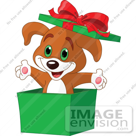 out clipart 48409 clip art illustration of a cute puppy popping.