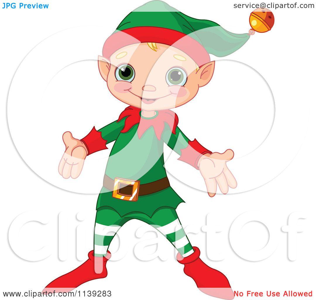 Elf Pushkin Clipart.