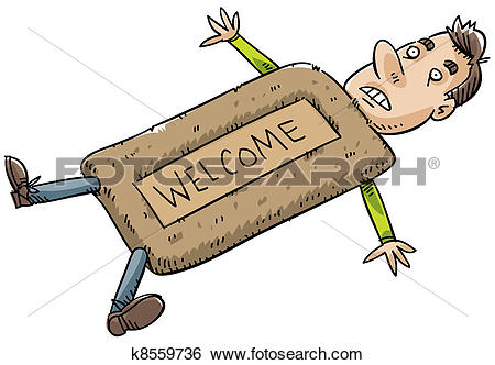 Stock Illustration of Doormat k8559736.
