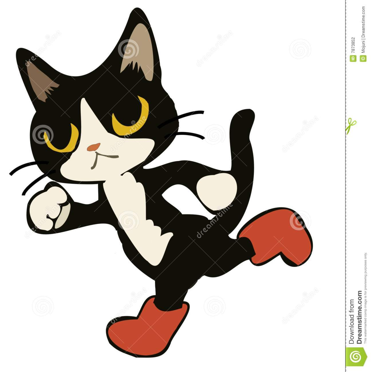 Puss in boots clipart.