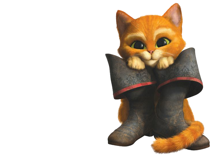 Download Puss In Boots PNG File.