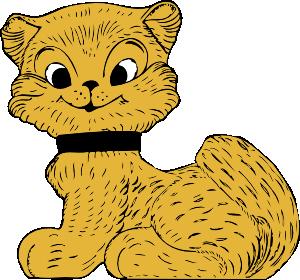 Cat 32 Clip Art at Clker.com.