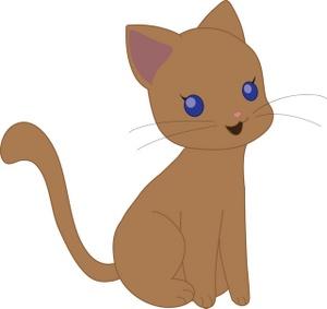 Kitten Clipart Image.