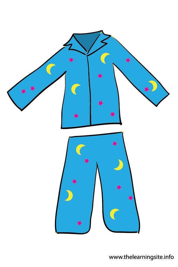 Pajamas Clipart On Transparent Background.