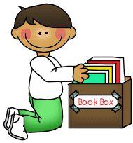 Book Box Clipart.