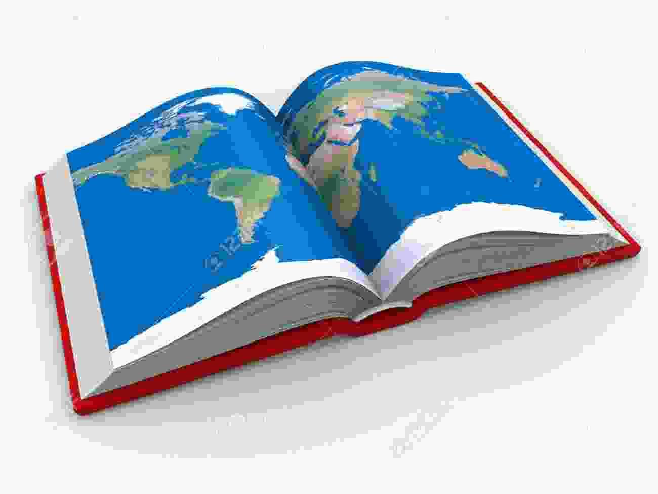 Cliparts Club: Atlas Book Clipart Cute.