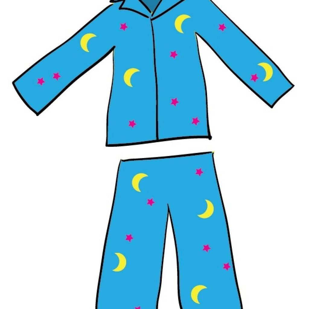 Put on pajamas clipart 5 » Clipart Station.
