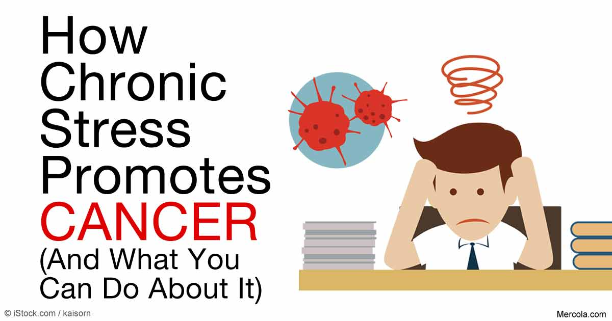 How Chronic Stress Promotes Spread of Cancer.
