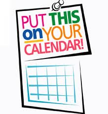 Put this in your calendar (clipart).