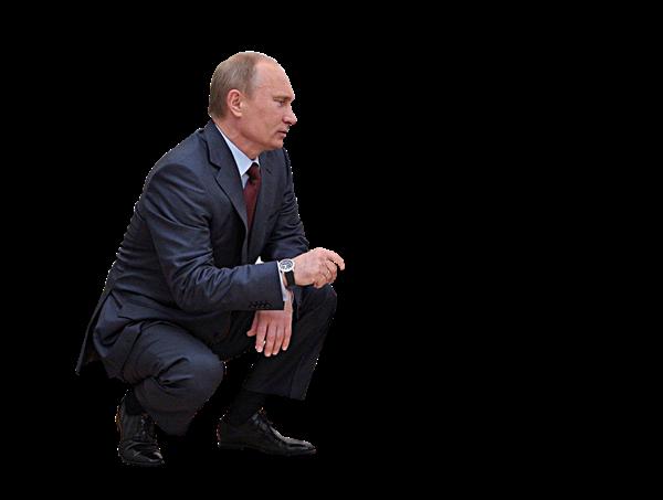 Vladimir Putin Transparent Background PNG.