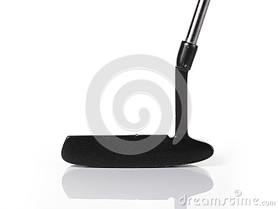 Putter Golf Club Head Stock Photography.