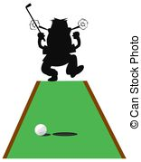 Putting green Clip Art and Stock Illustrations. 1,354 Putting.