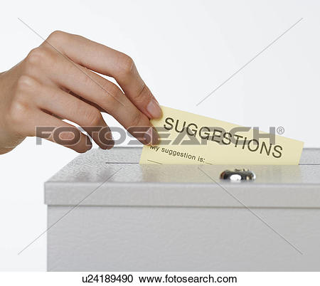 Stock Photography of Close up of woman's hand putting card in.