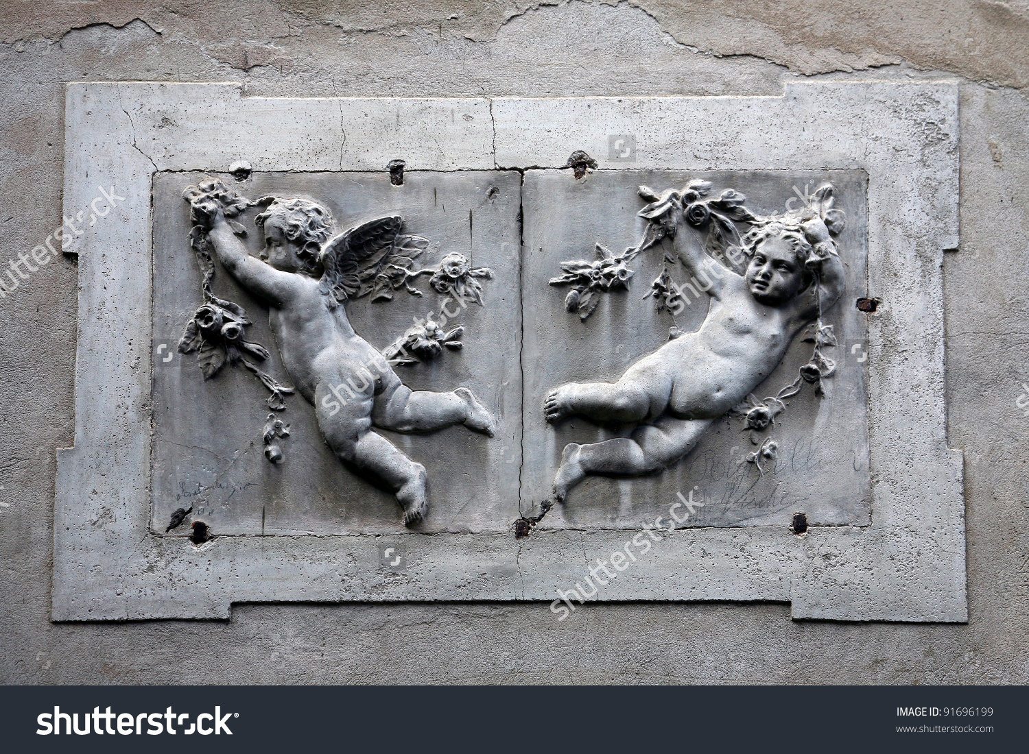 Putti, Angels, Italy Stock Photo 91696199 : Shutterstock.