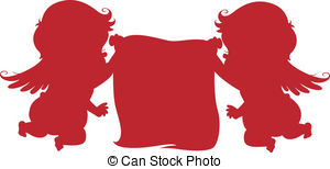 Putto Vector Clip Art Illustrations. 12 Putto clipart EPS vector.