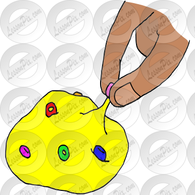 Pinch Putty Picture for Classroom / Therapy Use.