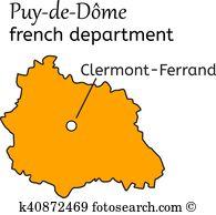 Puy de dome Clipart EPS Images. 4 puy de dome clip art vector.