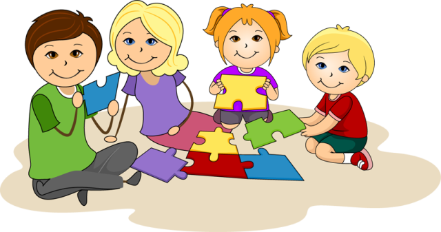 Puzzle and game clipart images.
