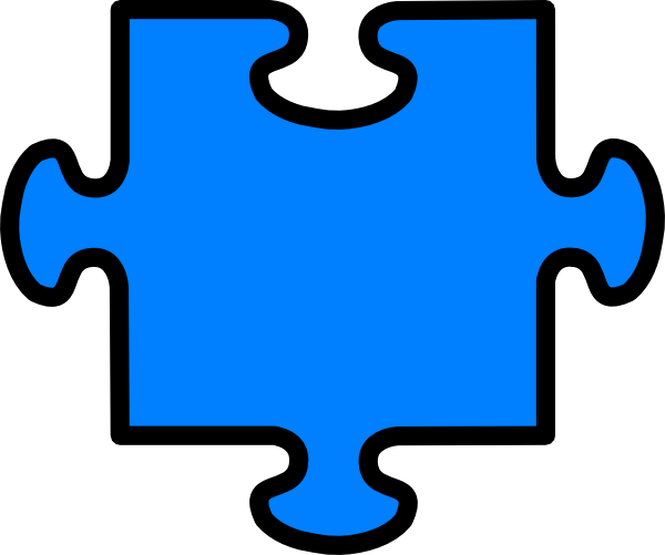 Blank Puzzle Piece Clipart.
