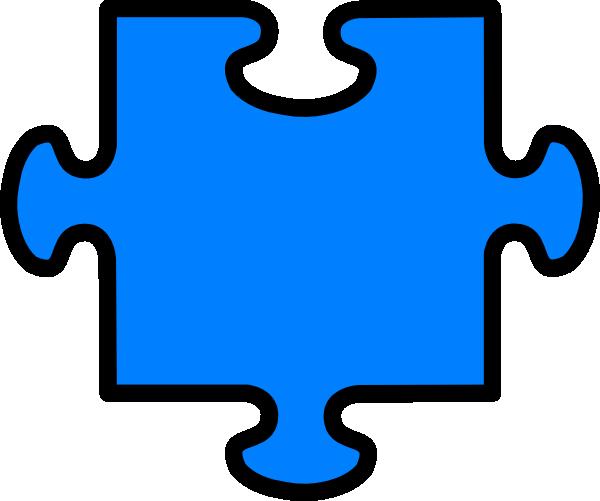 Puzzle piece clipart #17