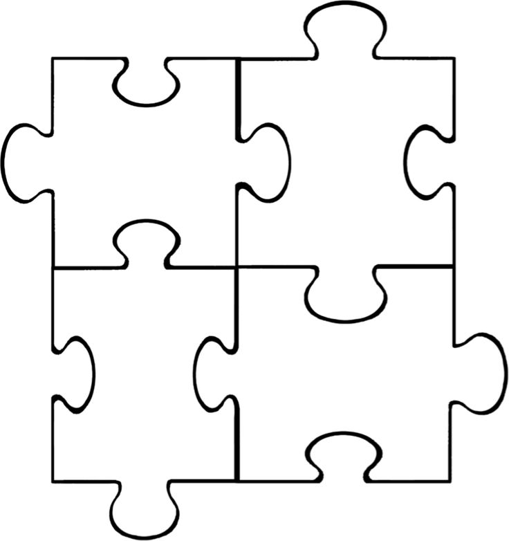 17 Best ideas about Puzzle Piece Template on Pinterest.