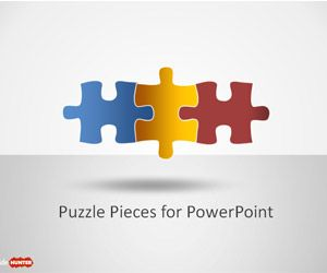 Free Puzzle Piece Shapes for PowerPoint.