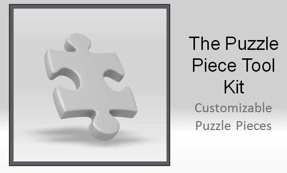 Puzzle Pieces Toolkit For PowerPoint Presentations.