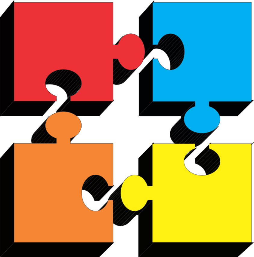 Puzzle Pieces Clip Art Free.