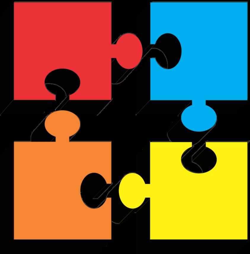 Puzzle Pieces Clip Art Free.