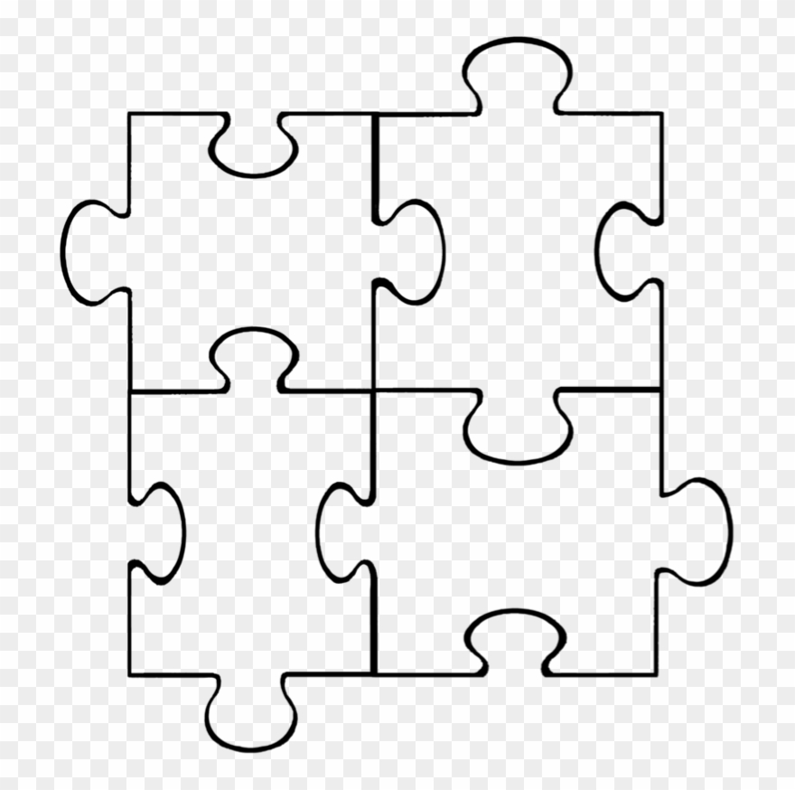Puzzle Piece Clip Art Free.