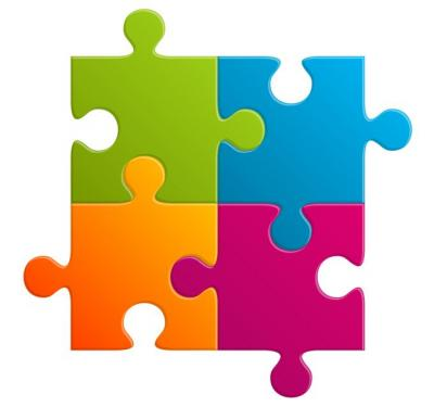 Jigsaw Clipart For Powerpoint Free.