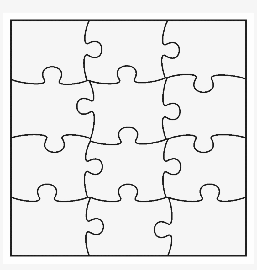 How To Make Jigsaw Pieces.