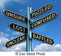 Puzzled clipart #12